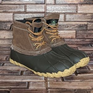 Redhead Waterproof Flannel Lined Rian boots